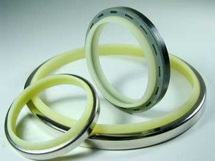 Corrosion Resistant Shaft Rod Wiper Seals ME-1N ME-2 ME-8 Moving / Static Ring