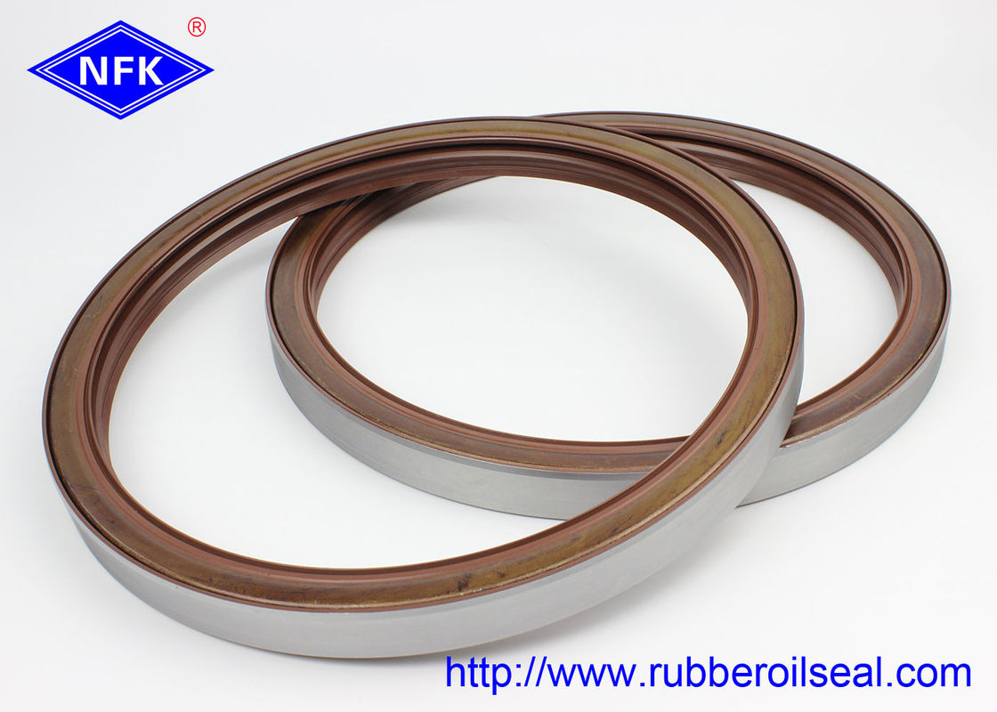 Material ZAX850/ZX870 Rotary Shaft  Oil Seals Fluorine Adhesive Dustproof Lip BZ5284E